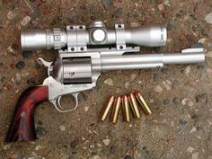 Freedom Arms .454 Casull Single-action Revolver ! Talk about your 'Big Bang Theory'!