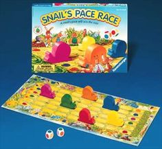 Cooperative Game for Very Young Children by Ravensburger Snail's Pace Race #cooperation #game #children www.cooperativegames.com