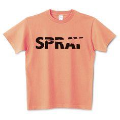 SPRAY | デザインTシャツ通販 T-SHIRTS TRINITY(Tシャツトリニティ)