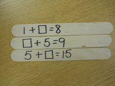 Mrs. T's First Grade Class: Missing Addend Kaboom! Post includes a Teacher Tipster video clip.
