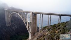 Bixby Bridge - Check more at https://www.miles-around.de/nordamerika/usa/kalifornien/highway-no-1-von-marina-bis-morro-bay/,  #Geocaching #HighwayNo.1 #Hotel #Kalifornien #Nationalpark #Natur #Ozean #Pazifik #Reisebericht #USA