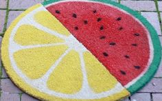 DIY: Crafting Fruit Door mat | Egypt's online furniture fair | The Home Page
