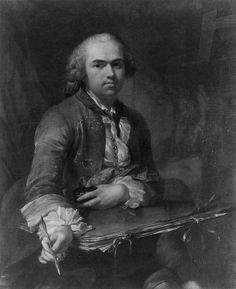 Selbstbildnis (Tischbein) - Johann Heinrich Tischbein – Wikimedia Commons