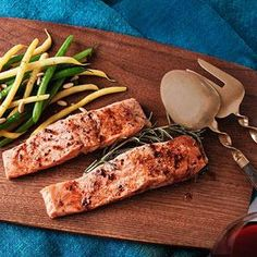 Roasted Salmon with Mom's Sauce