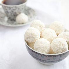 Perles de coco faciles Sorbet Coco, Patisserie Sans Gluten, Biscuits, Sweets, Sugar, Fruit, Cooking, Food, Granola