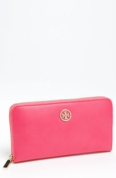 Tory Burch 'Robinson' Zip Continental Wallet available at Nordstrom