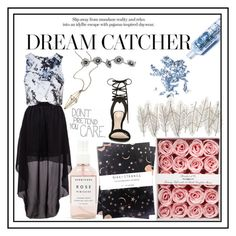 """""""Keep Dreaming!!!!"""" by professionalprocrastinator ❤ liked on Polyvore featuring Herbivore Botanicals, Topshop, Glitter Injections, Universal Lighting and Decor, maurices, Nikki Strange, Love Quotes Scarves and ALDO"""
