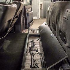 AR under seat carrier.