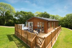 1st Lodge now up and running at Finlake, Devon. Your own taste of paradise available to buy at our stunning new development!