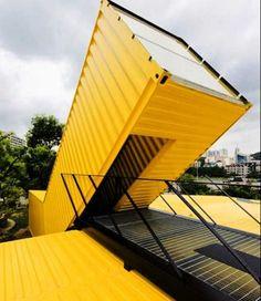 752e5da94428131994e35f5497ce7178 Ideias: Casas e construções feitas com containers arquitetura construcao container design fotos novidades sustentabilidade-2