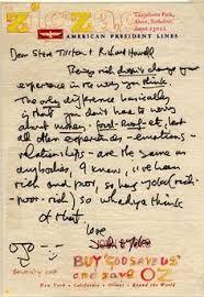John Lennon's letter to Steve Tilston