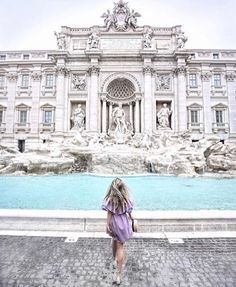 Italy Travel Guide: 10 Best Places to Visit in Rome - The Trevi Fountain Wanderlust Travel, Places To Travel, Travel Destinations, Places To Go, Rome Travel, Italy Travel, Travel Pictures, Travel Photos, Voyage Rome