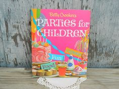 Betty Crocker's Parties for Children 1964 by MissMagpiesShoppe, $8.00