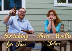 Funny pregnancy announcement. As a craft beer connoisseur, she had very mixed emotions.