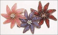 cynthia rutledge, art deco brooch