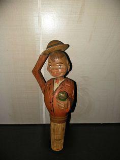 Classic pre-owned bottle cork puppet figurine. Hippie Bohemian, Boho Gypsy, Bohemian Decor, Bohemian Accessories, Fashion Accessories, Gypsy Style, Bohemian Style, Stuffed Eggs, Tiny Shop