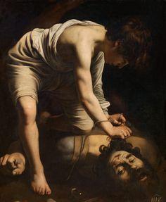 Michelangelo Merisi da Caravaggio, 'David vencedor de Goliat (David with the Head of Goliath)', 1598-1599