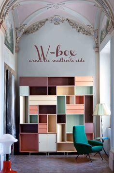 colorful cabinet #decor #design