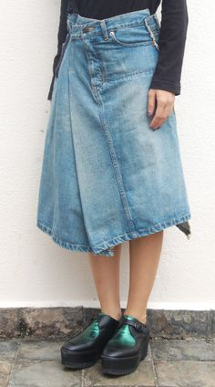 b541f77c99 33 best Deconstructed skirt images in 2016 | Deconstruction, Denim ...