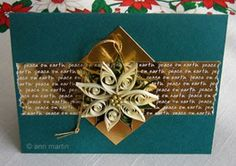 This is a great quilling site for ideas and some tutorials. This one is Christmas cards