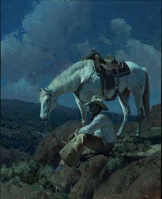 """""""Under a Cowboy Moon"""" Bill Anton"""