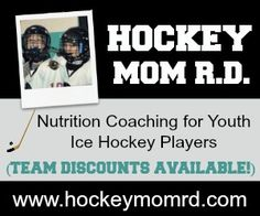 Don't wait until the playoffs.  Help your skater get ready now with an individualized nutrition strategy plan from Kim, Hockey Mom RD