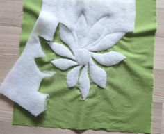 trapunto tutorial- great idea, why didn't I think if this! then quilt over the stitches from the back!