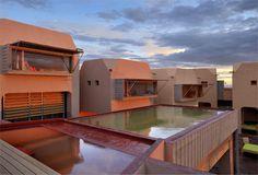 Dar Hi by Paris designer Matali Crasset. It is a new design hotel/eco-lodge/spa. Amazing!