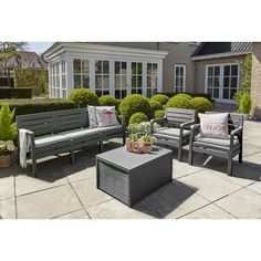Found it at Wayfair.co.uk - Delano 5 Seater Sofa Set with Cushions