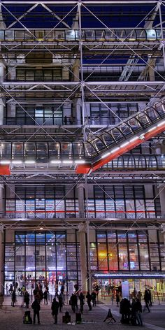 Centre Georges Pompidou by Xynn Tii | #xynntii | http://xtii.com