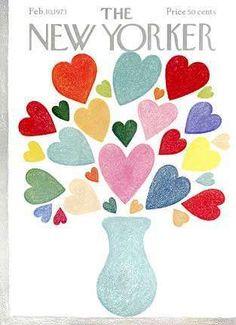 New Yorker magazine February 10 1973 Valentine's day flower heart vase VERY FINE The New Yorker, New Yorker Covers, Magazine Art, Magazine Covers, Flow Magazine, Literary Gifts, Vintage Magazines, Vintage Posters, Cover Art