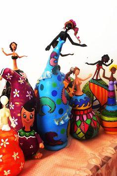 Fika a Dika - Por um Mundo Melhor: Artesanato com Cabaça do Construindo Arte