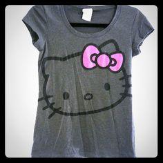 HELLO KITTY T-SHIRT Never worn. Super cute. Hello Kitty Tops Tees - Short Sleeve