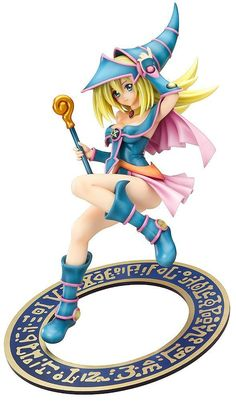 Dark Magician Girl (Yu-Gi-Oh!) High-quality PVC Figure (1:7 Scale) #yugioh #darkmagiciangirl #heartofthecards