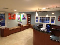 Our newly renovated reception area