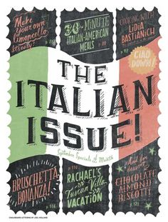 A look at our feature stories from our #RRItaly issue.