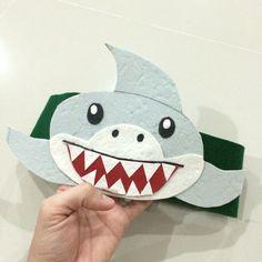 DIY - Shark crown for kids!