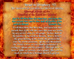 Israel in Prophecy - The Instrument for Salvation and Universal Blessing