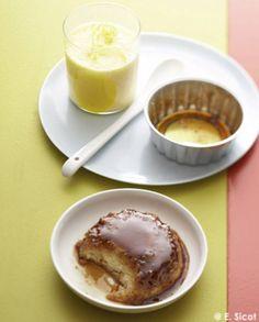 Gâteaux caramélisés au tapioca et crèmes très onctueuses pour 4 personnes - Recettes Elle à Table