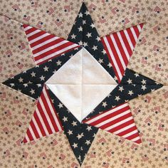americana+quilt+block | Such a Sew and Sew: Zig-Zag Flag and Other Patriotic Quilt Blocks