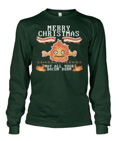 Viral Style - MAY ALL YOUR BACON BURN UGLY SWEATER!