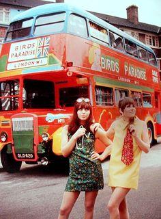 the swinging sixties - mini skirts