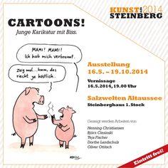 Ausstellung mit Arbeiten von fünf Sommerakademisten im österreichischen Altaussee