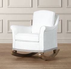 Roll Arm Rocker with Slipcover - modern - rocking chairs and gliders - by Restoration Hardware Baby & Child