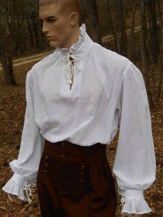 Camisa Medieval, Renaissance Pirate, Renaissance Shirt, Poet Shirt, Foto Portrait, Pirate Shirts, Mens Fashion, Fashion Outfits, Character Outfits