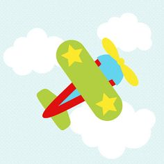 Shery K Designs: Free SVG DXF GSD   Airplanes & Clouds template