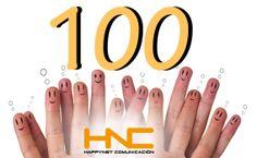 Celebramos nuestros primeros 100 followers