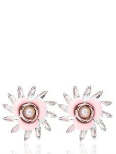 MSGM Resin Flower Earrings on shopstyle.com