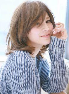 大人無造作×ミディアム 【croix】 http://beautynavi.woman.excite.co.jp/salon/25862?pint ≪ #mediumhair #mediumstyle #mediumhairstyle #hairstyle・ミディアム・ヘアスタイル・髪形・髪型≫