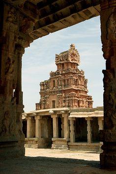 Karnataka, India - Temple d'Hampi